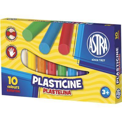 PLASTELINA ASTRA 10 kolorów-14018