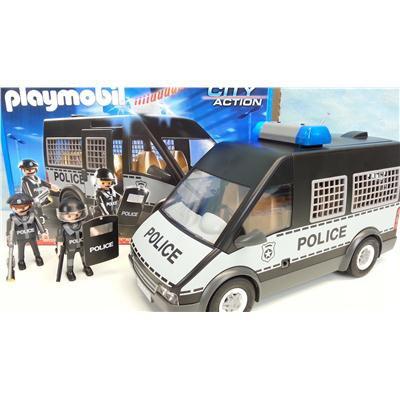 Playmobil 6043 POLICJA samochód policyjny sygnały-16632