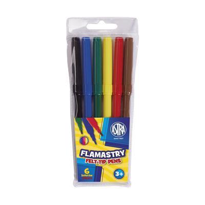 FLAMASTRY 6KOL ASTRA-39562