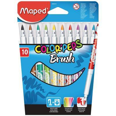 PISAKI 10 kolorów COLORPEPS BRUSH-17312