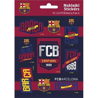 NAKLEJKI FC-115 FC BARCELONA FAN4-18384