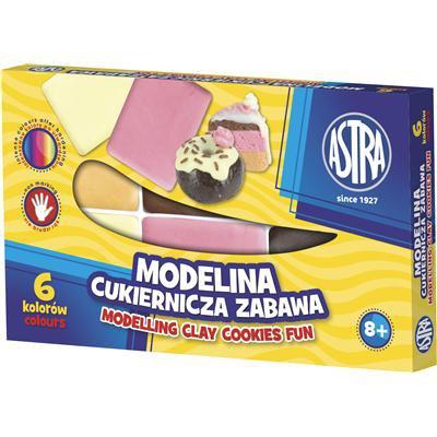 Modelina cukiernicza 6 kolorów-20026