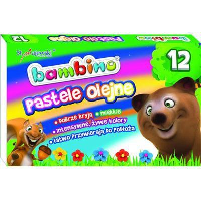Pastele Olejne BAMBINO 12 KOL-20727