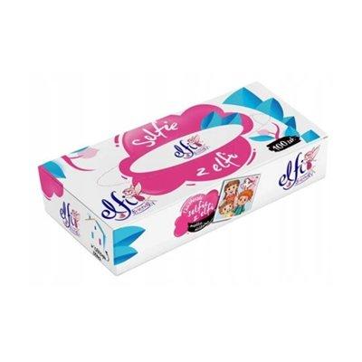 ELFI Chusteczki higieniczne celulozowe w kartoniku-47073