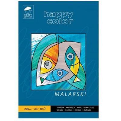 BLOK MALARSKI A4 200G MŁODY ARTYSTA HAPPY COLOR-26092
