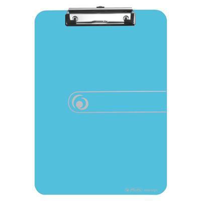 Deska z klipem a4 niebieska transpar. Orga-42099