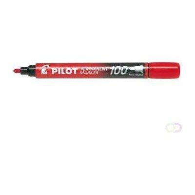MARKER PERMAMENTNY SCA-100 CZERWONY PILOT-27419