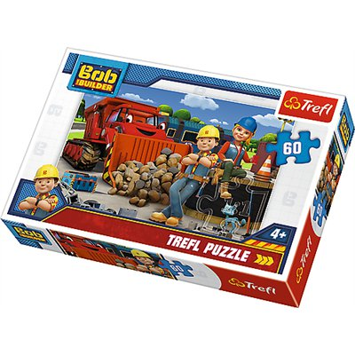 TREFL Puzzle 60 ELEM Bob Budowniczy I Wendy 17300-46612