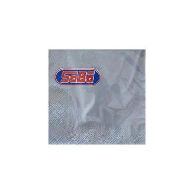 Serwetka składana 33x33cm 3w 20szt Szara SABA-46499