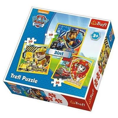 PUZZLE 3W1 PAW PATROL 34839-30385