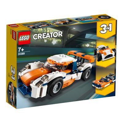 LEGO Creator - Słoneczna wyścigówka 3w1 31089-46284