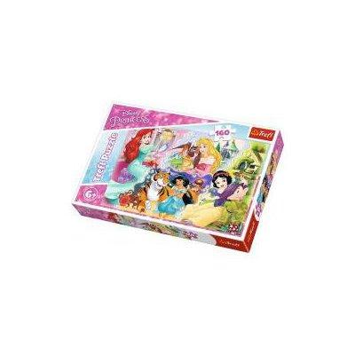 Puzzle 160 Księżniczki i przyjaciele TREFL-33812