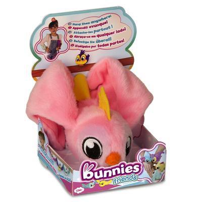 Bunnies Friends. Pluszowy ptaszek z magnesem-33874