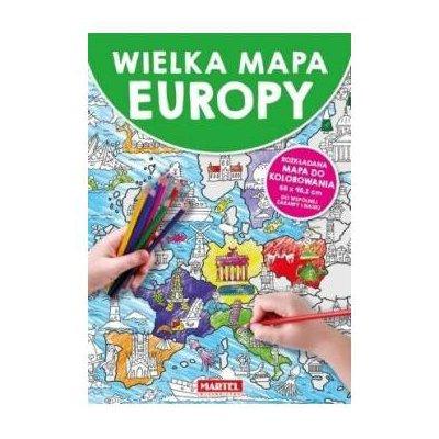 MAPA EUROPY MARTEL
