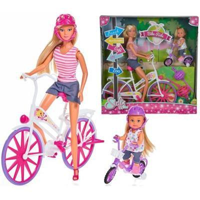 Simba lalka Steffi love Przejażdżka na rowerze 573-34641