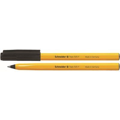 Długopis SCHNEIDER Tops 505 F czarny-36089