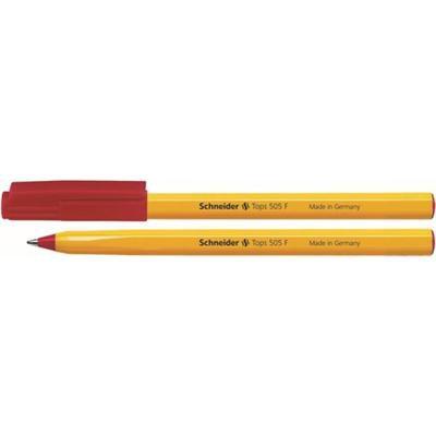 Długopis SCHNEIDER Tops 505 F czerwony-36090