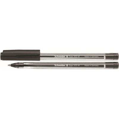 Długopis SCHNEIDER Tops 505 M czarny-36092