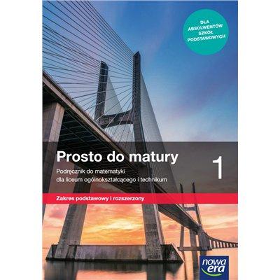 PROSTO DO MATURY 1 ZAKR. PODSTAW I ROZSZERZONY-43521