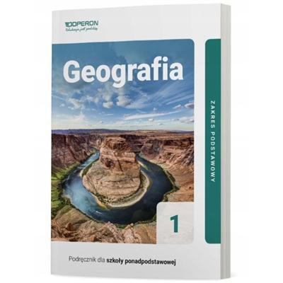 GEOGRAFIA PODRĘCZNIK DLA SZKÓŁ PONADPODSTAWOW.-43525