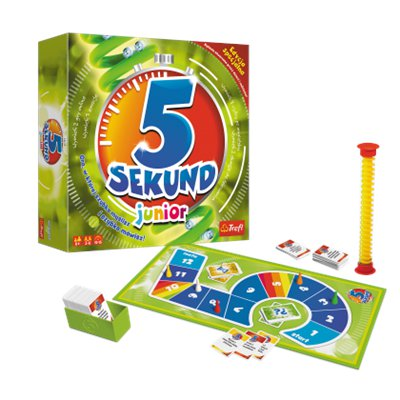 5 SEKUND JUNIOR Gra planszowa rodzinna dla dzieci-36208