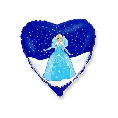 """Balon foliowy serce Elsa Frozen - Kraina Lodu 18""""-37261"""