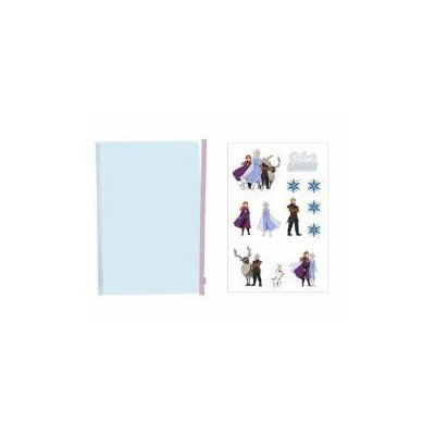 Notes a5 frozen do samodzielnego zdobienia doe-368-37322