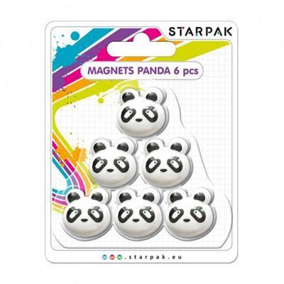 Magnesy Panda 6 SZTUK-41905