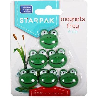Magnesy żabka 6 sztuk-41904