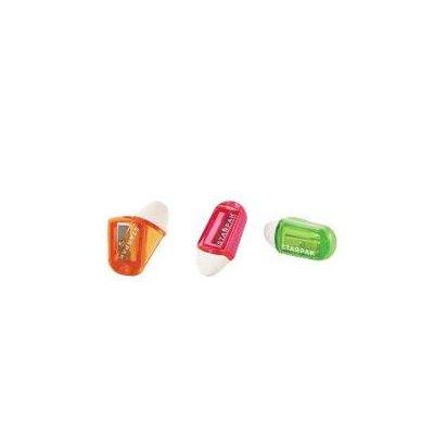 Starpak Temperówka plastikowa z gumką do mazania-37583