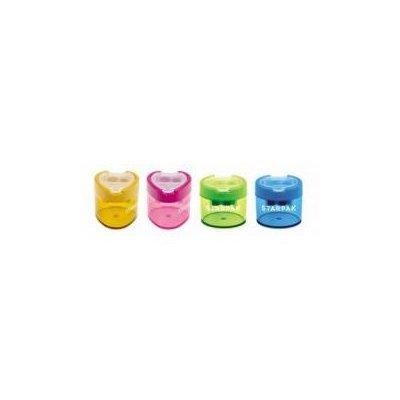 Starpak Temperówka plastikowa podwójna owal/trójką-37584
