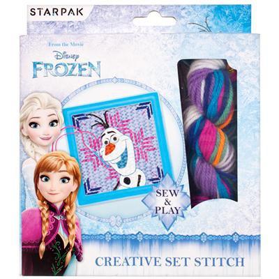 Zestaw kreatywny Stitch Frozen - STARPAK 394050-37761
