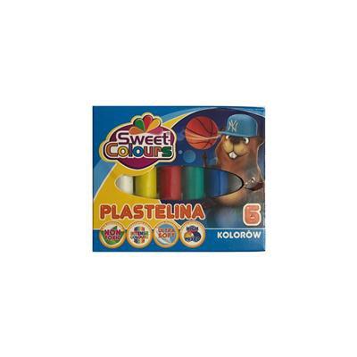 Koma-Plast Plastelina 6 kolorów-38794