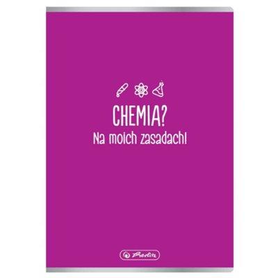 Zeszyt A5/60k kratka Herlitz Chemia-42990