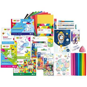 Happy Color Wyprawka szkolna przedszkolna Happy