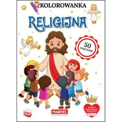Kolorowanka z naklejkami Religijna-45285