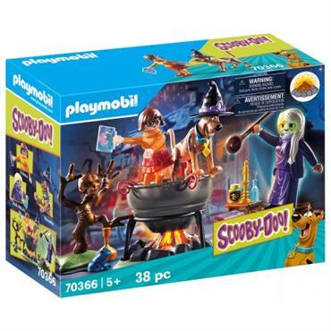 Playmobil - SCOOBY-DOO! Przygoda w kotle 70366