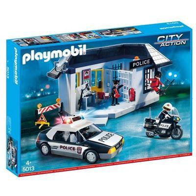 PLAYMOBIL 5013 POSTERUNEK POLICJI Z WIĘZIENIEM-45619