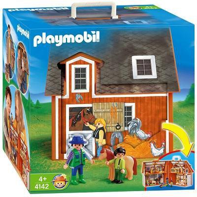 Playmobil - Moje przenośne gospodarstwo rolne 4142-45621