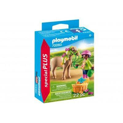Playmobil - Dziewczynka z kucykiem 70060-45625