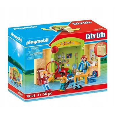 PLAYMOBIL CITY LIFE 70308 PRZEDSZKOLE W WALIZCE-45635