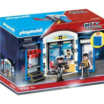 PLAYMOBIL POSTERUNEK POLICJI PLAY BOX 70306-45636