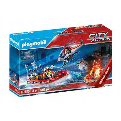 PLAYMOBIL 70335 Straż przybrzeżna helikopter łódź-45639