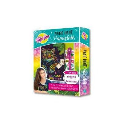 Pamiętnik Magic Light Pantera STnux-45807