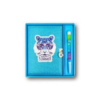 Pamiętnik brokatowy Tygrys STnux-45808