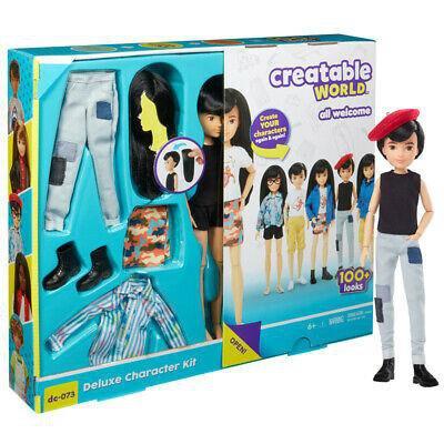BARBIE CREATABLE WORLD Ciemne Włosy stwórz lalkę-46469