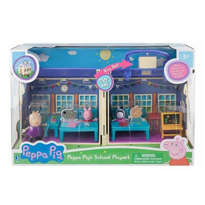 Świnka Peppa Duży Zestaw Szkoła Tm Toys-46596