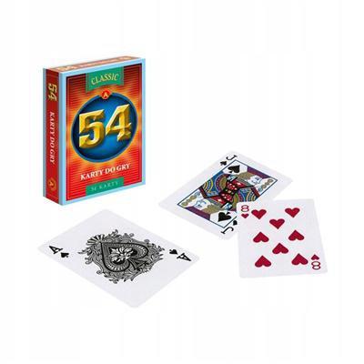 Karty do gry talia 54 sztuki poker-46840