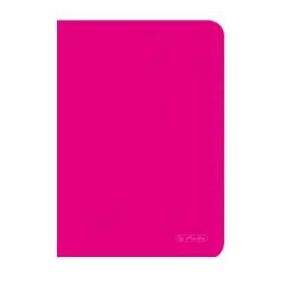 Zeszyt A5 Herlitz 60 k kratka Rainbow Różowy-43075