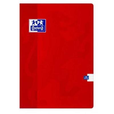 Zeszyt OXFORD ESSE A5 kratka 60 kart. 90g czerwony-43112